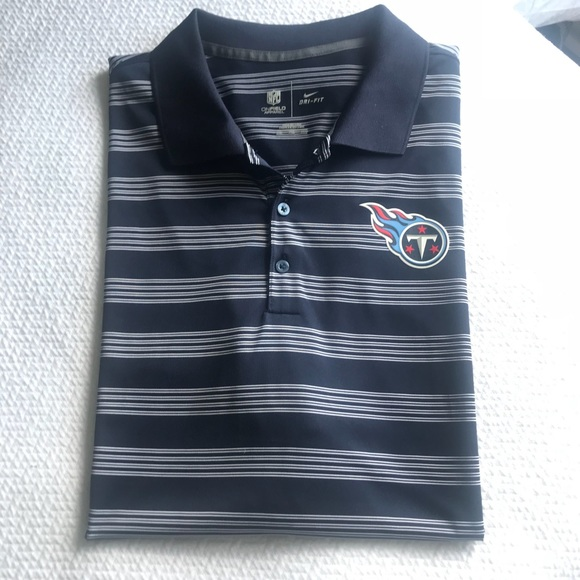 a497847a9 Like New Tennessee Titans Nike dri fit polo
